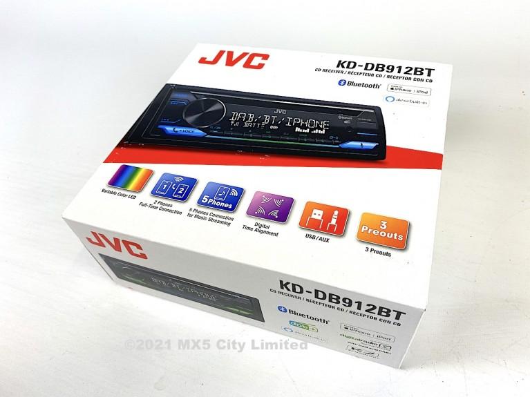 JVC KD DB912BT DAB CD/Tuner