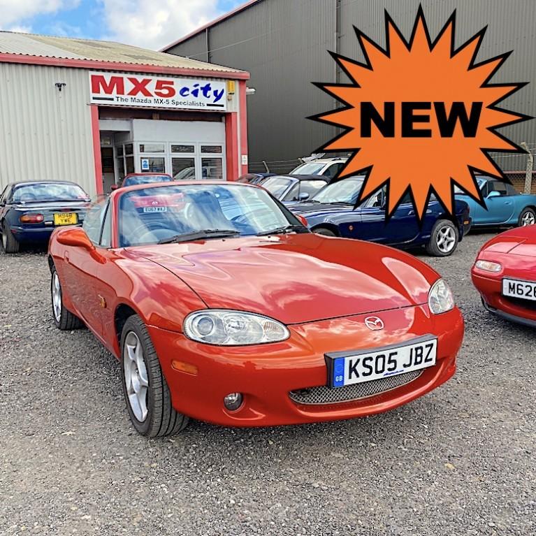 2005 Mazda MX-5 Mk2.5 1.8 VVT Icon