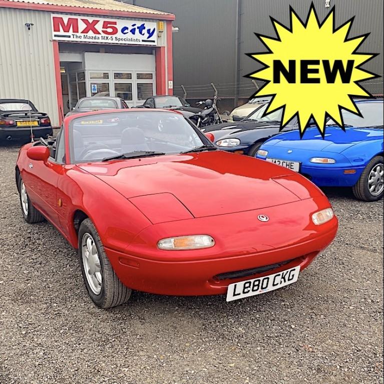 1993 MX-5 Mk1 1.6 UK Spec.