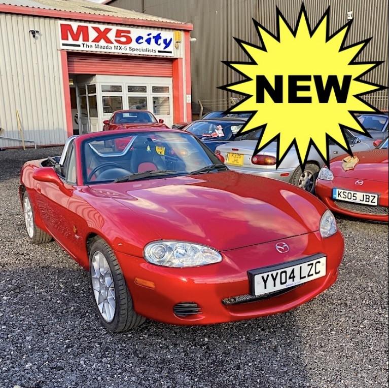 2004 Mazda MX-5 Mk2.5 1.8 Euphonic