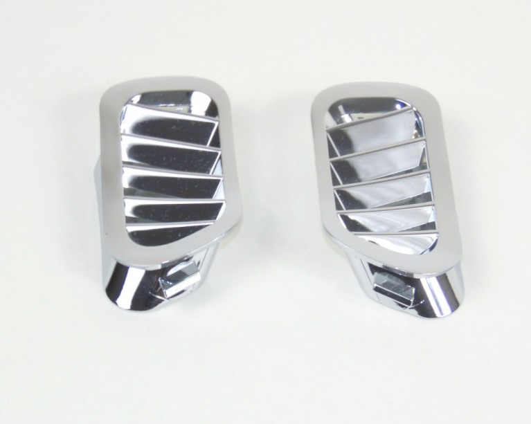 Chrome side demister vents Mk1