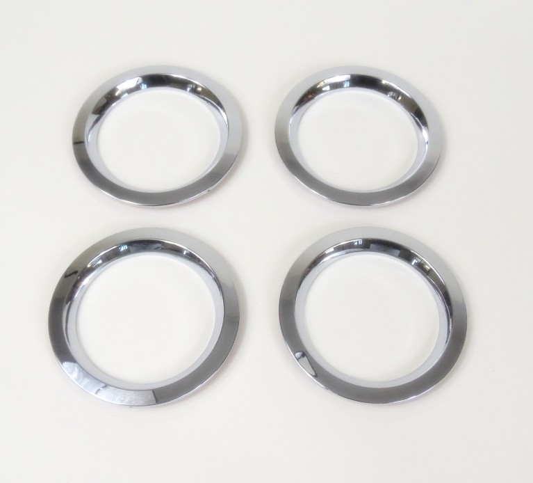 Chrome Vent Rings