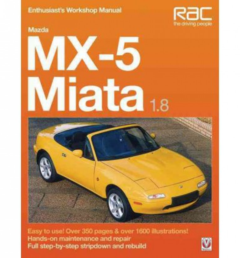 Mazda Mx5 1.8 Workshop Manual