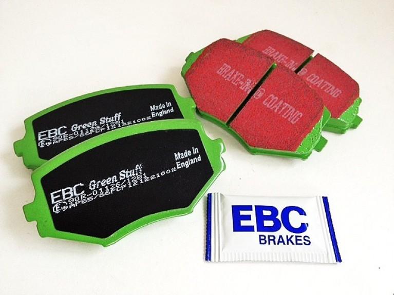 EBC Greenstuff Front Pad Set MK1 1.6