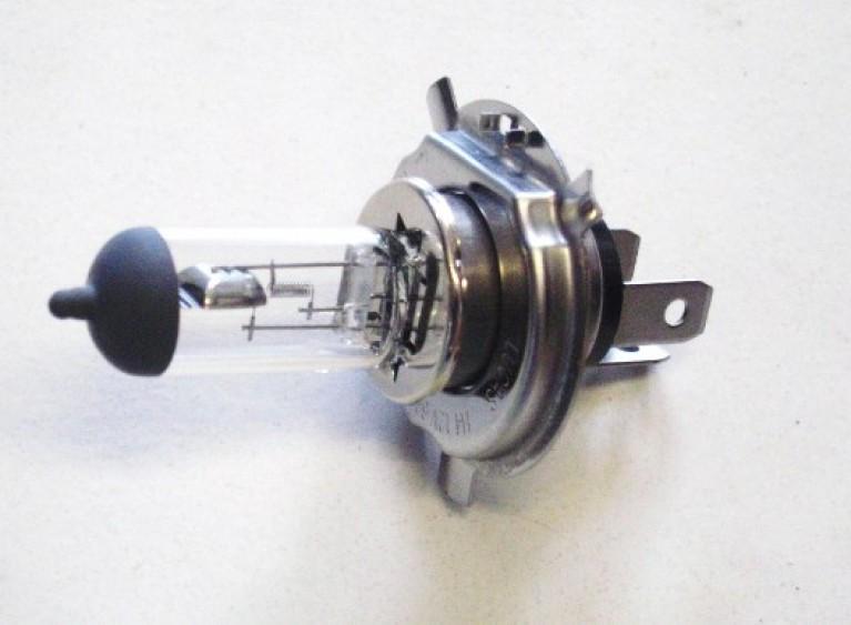 Halogen H4 headlamp bulb