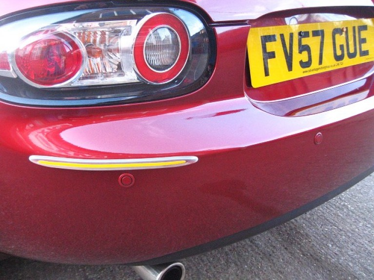 Rear parking sensors and fitting