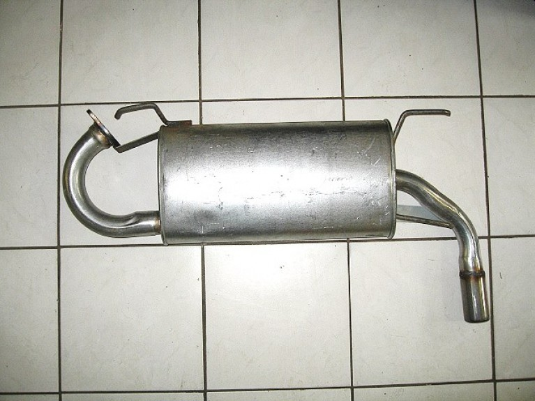 Mk2 Mk2.5 Rear Back Box Silencer