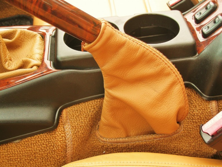 Leather Handbrake Sleeve