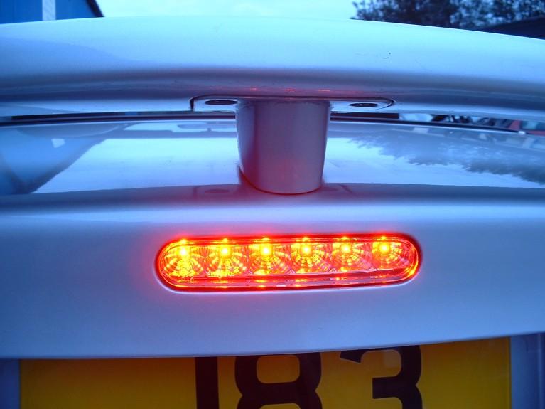 Clear high level brake light MK1