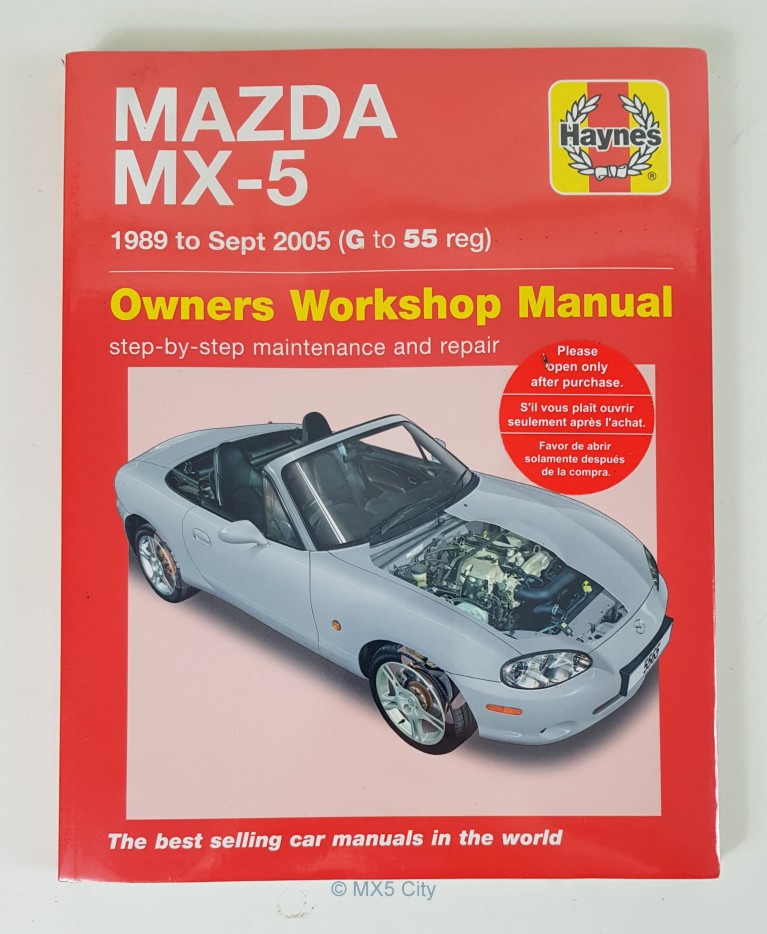 Mazda MX5 Haynes Workshop Manual