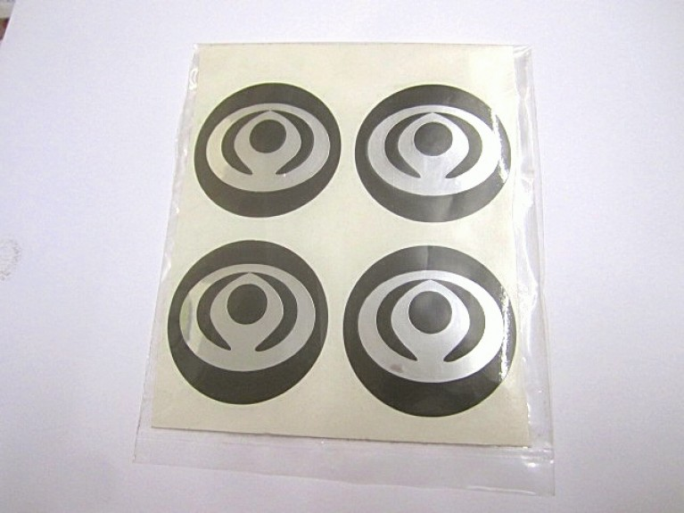 Wheel Centre Sticker Set