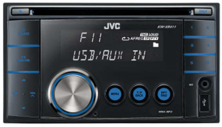 JVC KW-XR411 CD Tuner