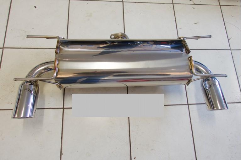 Stainless back box Mk3 & 3.5
