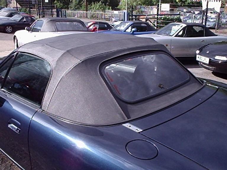 Black Vinyl Hood with Heated Glass Screen