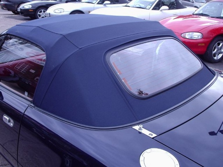 Blue Mohair Hood Mk2 Mk2.5