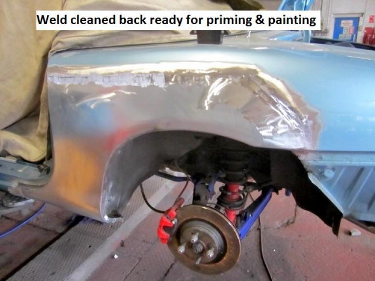 Rear Sill & Wheel-Arch Repairs