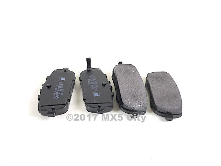 Rear Pad Set Mk3/Mk3.5