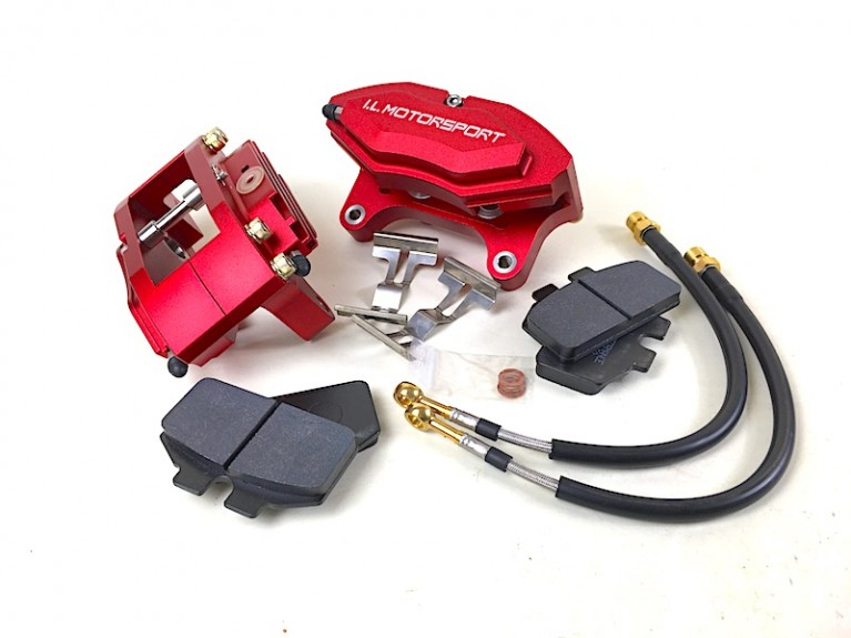 Performance brake caliper set