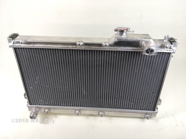 High flow alloy radiator Mk1