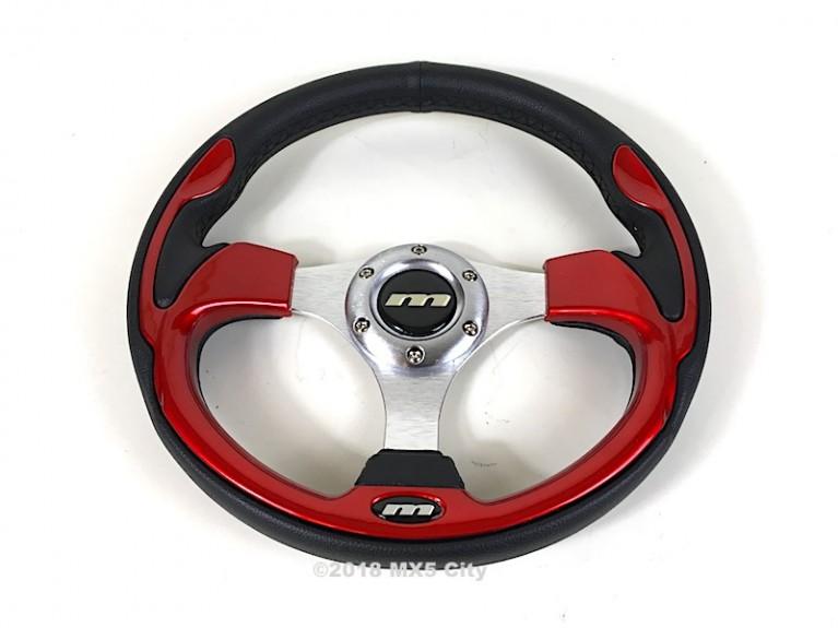 Sports steering wheel - Red