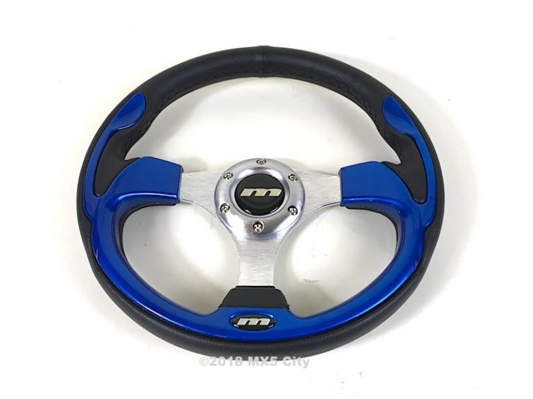 Sports steering wheel - Blue