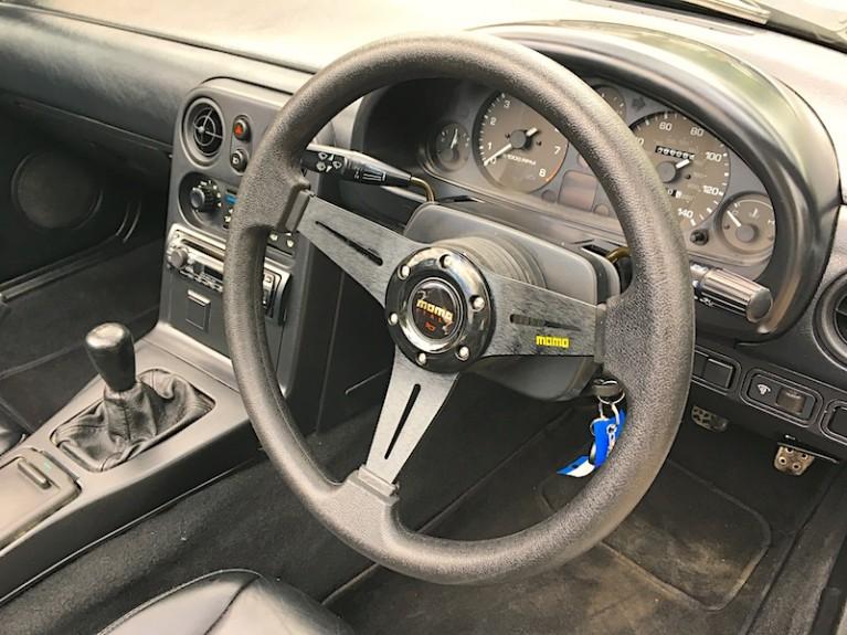 Momo style steering wheel