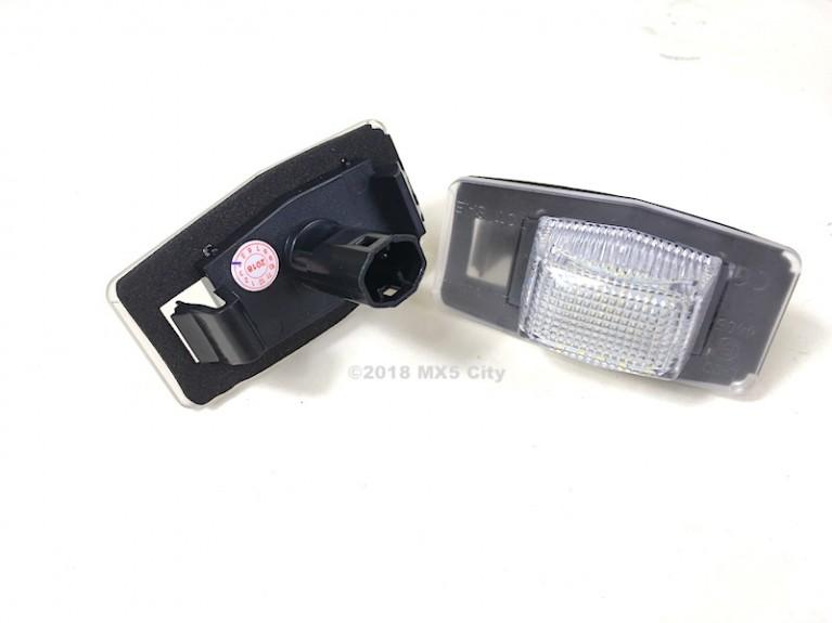 Rear Number Plate Lamp Set LED - Mk2/2.5