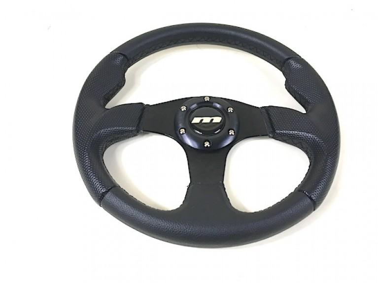 Sports steering wheel - Black