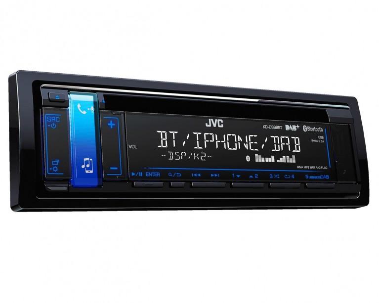 KD-DB98BT JVC DAB CD Receiver - Bluetooth/Phone/CD/Radio/Aux