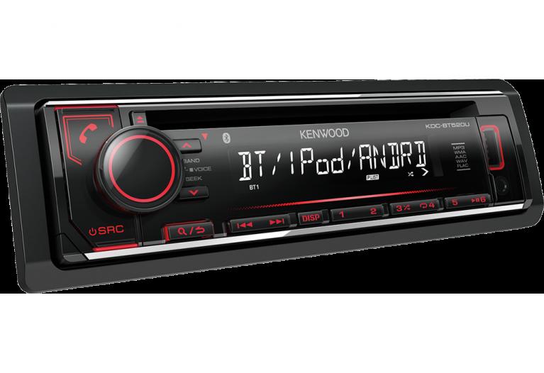 KDC-BT520U Kenwood CD Receiver - Bluetooth/Phone/CD/Aux