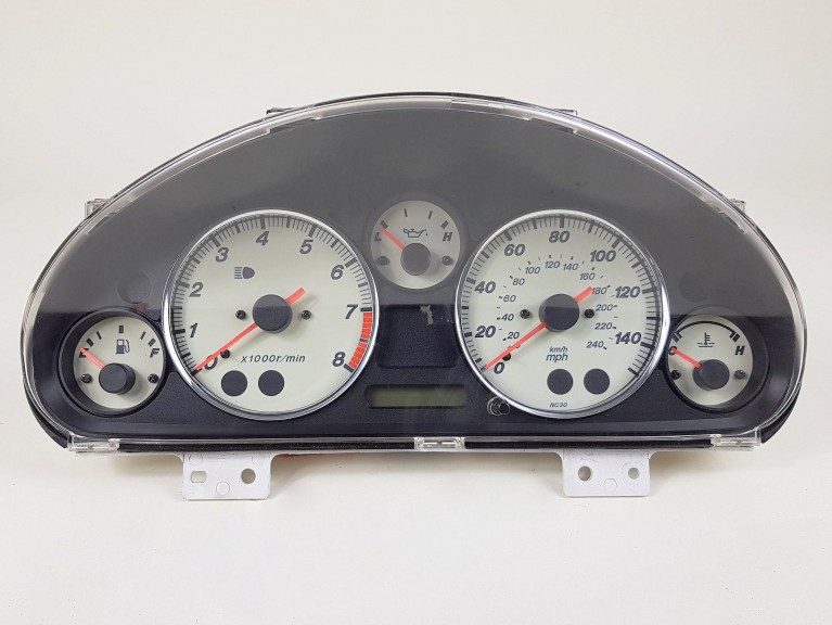 Dash Cluster Mk2.5 150mph (NC87) - (Used)