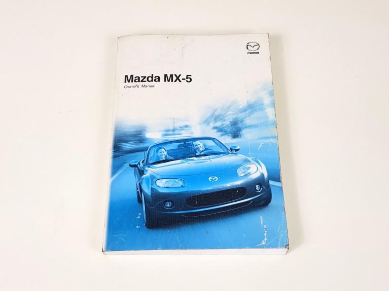Original MX5 Owner's Handbook UK Spec - Mk1/Mk2/Mk3 (Used)