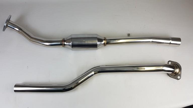 Stainless Steel SportsCat & Midpipe, Mk3/3.5/3.75